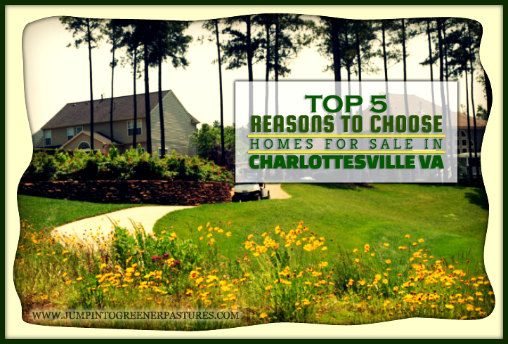 Top 5 Reasons to Choose Homes for Sale in Charlottesville VA