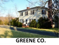Greene Co. VA Historic Homes